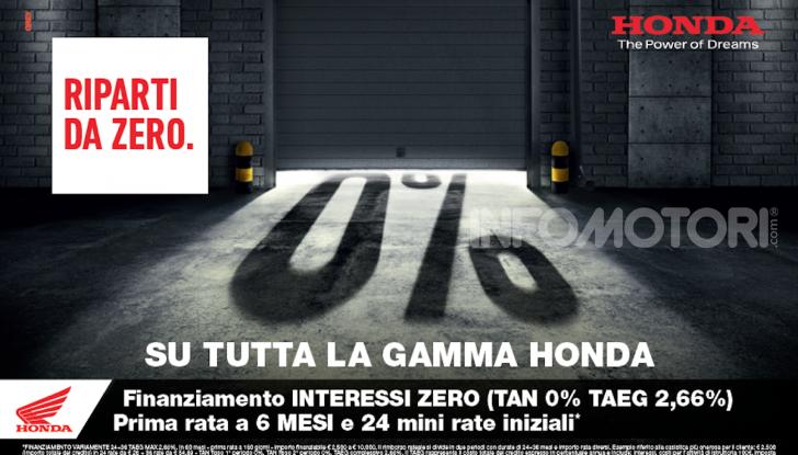 Honda suona la carica per la ripartenza: tanti vantaggi su tutta la gamma - Foto 1 di 9