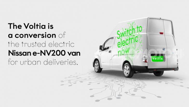 Nissan e-NV200 XL Voltia: massima capienza e zero emissioni - Foto 1 di 3