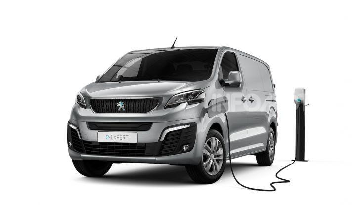 Peugeot e-Expert: elettrico, capiente e potente - Foto 1 di 21
