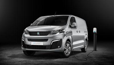Peugeot e-Expert: elettrico, capiente e potente