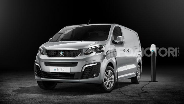 Peugeot e-Expert: elettrico, capiente e potente - Foto 11 di 21