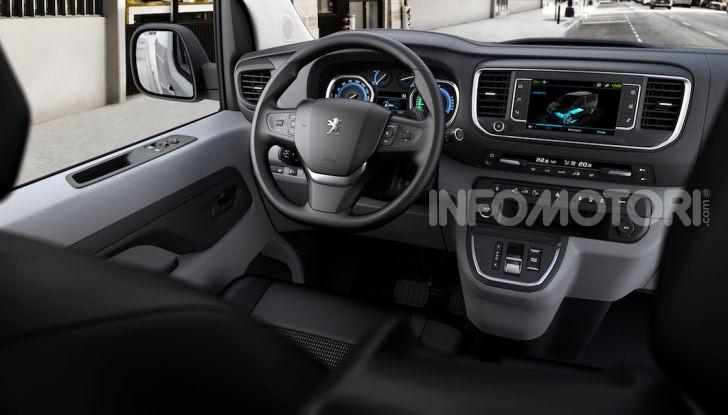 Peugeot e-Expert: elettrico, capiente e potente - Foto 12 di 21