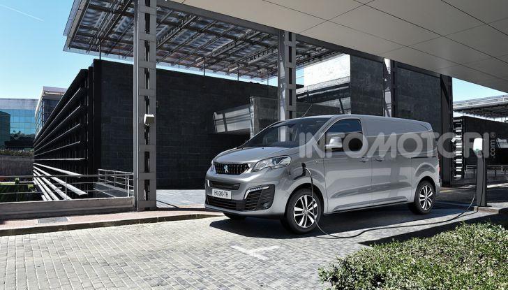 Peugeot e-Expert: elettrico, capiente e potente - Foto 2 di 21