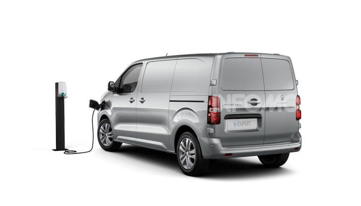 Peugeot e-Expert: elettrico, capiente e potente - Foto 3 di 21