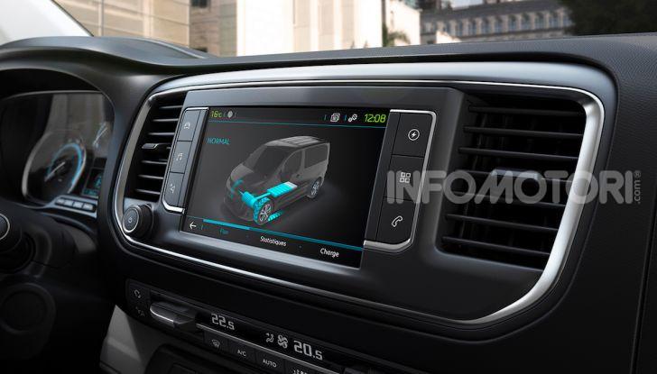 Peugeot e-Expert: elettrico, capiente e potente - Foto 4 di 21