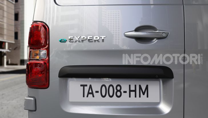 Peugeot e-Expert: elettrico, capiente e potente - Foto 9 di 21