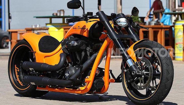 RS Lambo: un po' Harley Davidson un po' Lamborghini - Foto 2 di 11