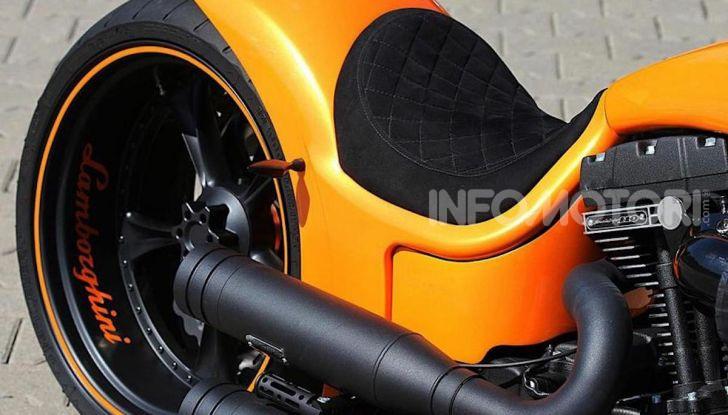RS Lambo: un po' Harley Davidson un po' Lamborghini - Foto 7 di 11