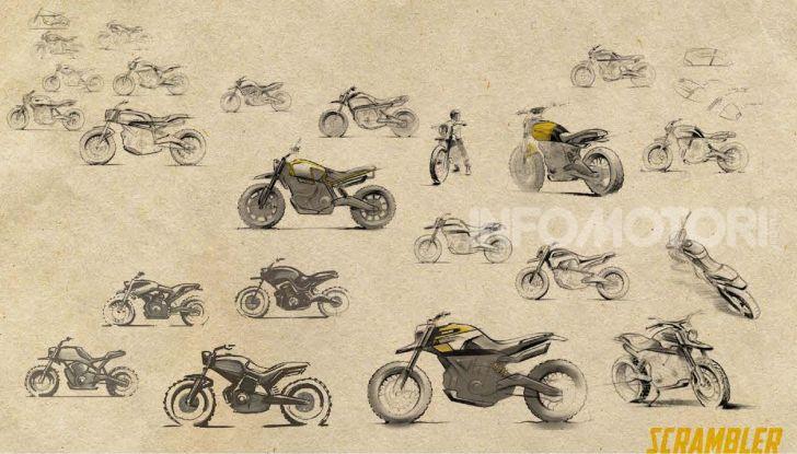 Peter Harkins disegna la Scrambler Ducati del futuro - Foto 1 di 6