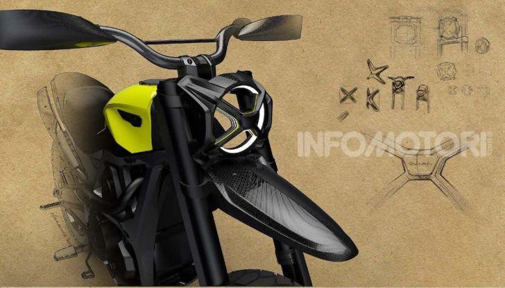 Peter Harkins disegna la Scrambler Ducati del futuro - Foto 4 di 6