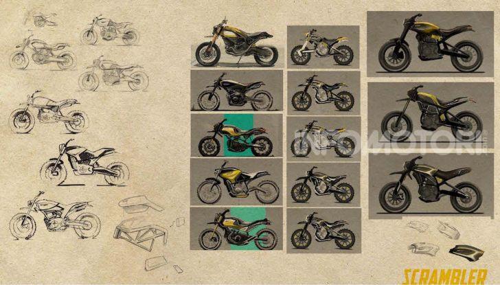 Peter Harkins disegna la Scrambler Ducati del futuro - Foto 5 di 6