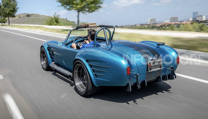 Nuova Shelby Cobra, replica ufficiale di Superperformance - Foto 5 di 11