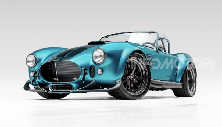 Nuova Shelby Cobra, replica ufficiale di Superperformance - Foto 7 di 11