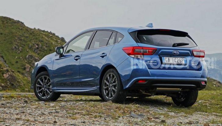 Subaru Impreza e-Boxer: prestazioni di livello e animo green - Foto 11 di 11