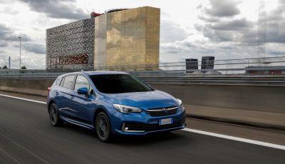 Subaru Impreza e-Boxer: prestazioni di livello e animo green