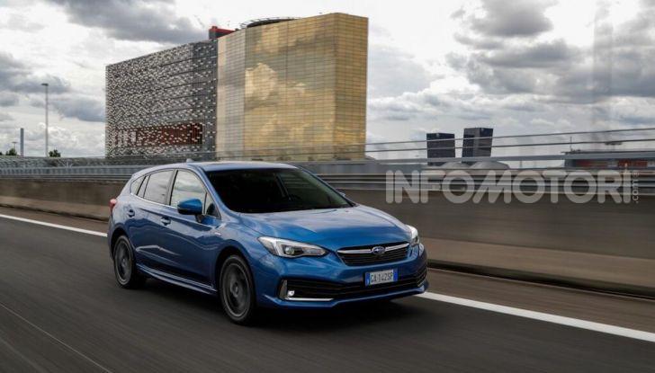 Subaru Impreza e-Boxer: prestazioni di livello e animo green - Foto 4 di 11