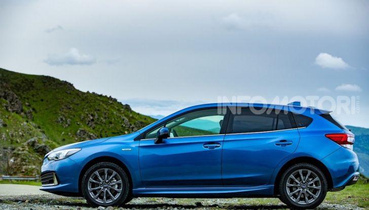 Subaru Impreza e-Boxer: prestazioni di livello e animo green - Foto 5 di 11