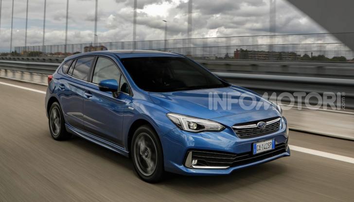 Subaru Impreza e-Boxer: prestazioni di livello e animo green - Foto 6 di 11