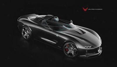 Alfa Romeo Barchetta del futuro, rendering e dettagli