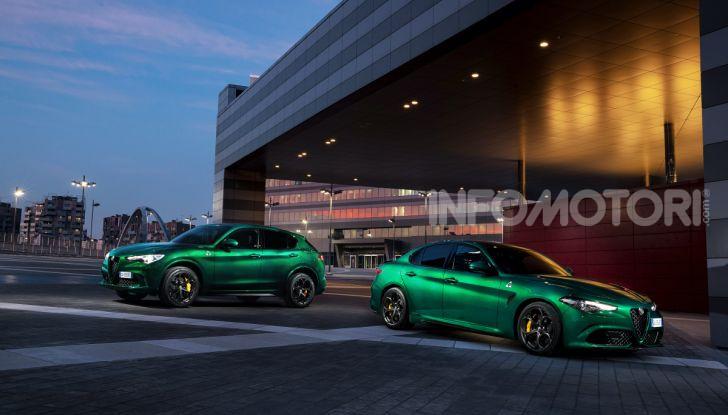 Alfa Romeo Giulia e Stelvio Quadrifoglio MY 2020