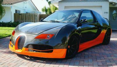 Una Bugatti Veyron low-cost, ecco la supercar da 4.000€