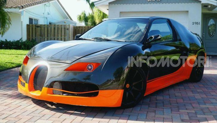 Bugatti Veyron replica Honda Civic