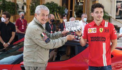 """""""Le Grand Rendez-vous"""": il cortometraggio di Lelouch con la Ferrari SF90 Stradale e Charles Leclerc"""