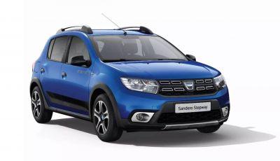 Dacia 15th Anniversary: Duster, Sandero Stepway, Logan e Lodgy in edizione speciale