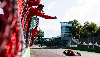F1: l'Autodromo di Monza diventa un cinema drive-in