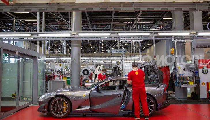 Ferrari ripresa produzione Coronavirus 2020