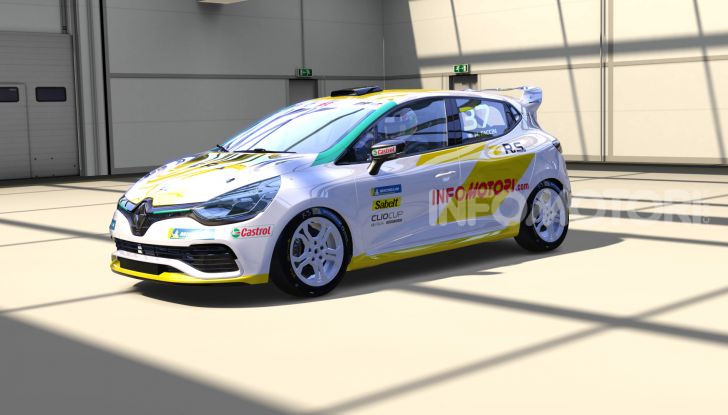 Infomotori al via della Clio Cup eSport Series 2020 - Foto 2 di 8