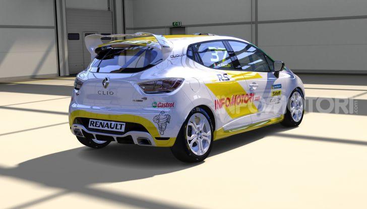 Infomotori al via della Clio Cup eSport Series 2020 - Foto 4 di 8