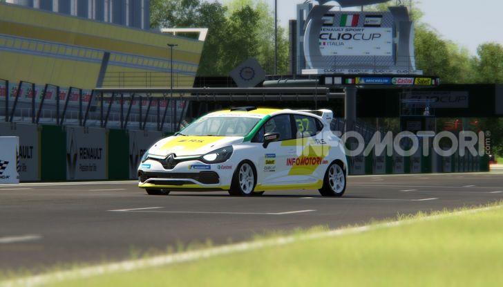 Infomotori al via della Clio Cup eSport Series 2020 - Foto 5 di 8
