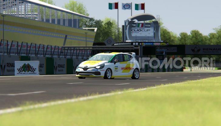 Infomotori al via della Clio Cup eSport Series 2020 - Foto 6 di 8