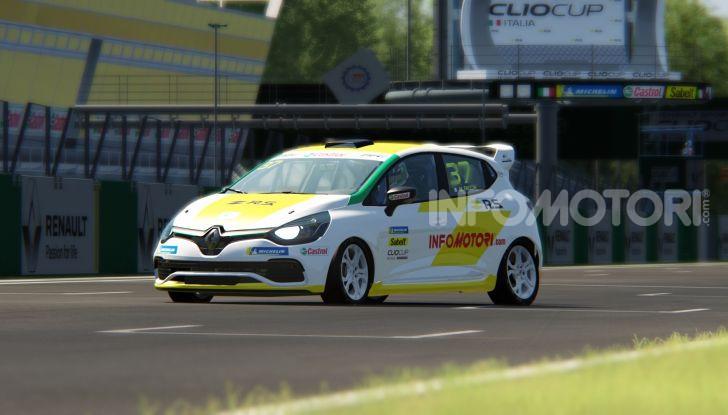 Infomotori al via della Clio Cup eSport Series 2020 - Foto 3 di 8