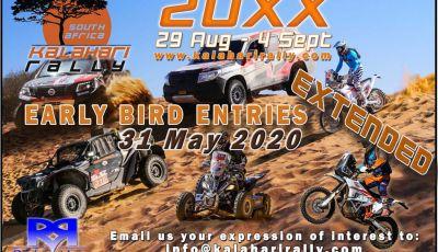 Road to Dakar 2021: il Kalahari Rally al via in Sud Africa dal 29 agosto al 4 settembre