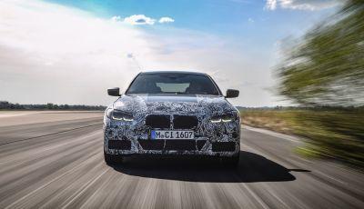 Nuova BMW Serie 4 Coupé: fase finale dei test dinamici su strada