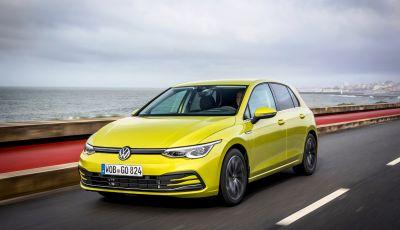Volkswagen Golf 8 2020 in promozione con rate da 289 Euro al mese