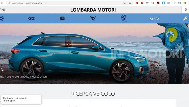 Lombarda Motori riparte dal digitale e dal pickup and delivery - Foto 2 di 7