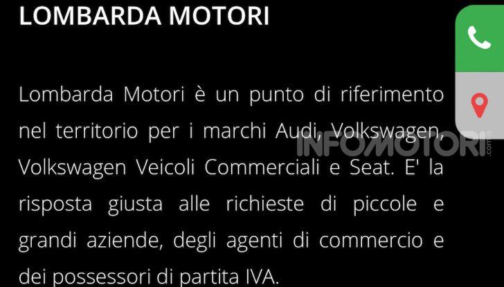 Lombarda Motori riparte dal digitale e dal pickup and delivery - Foto 5 di 7