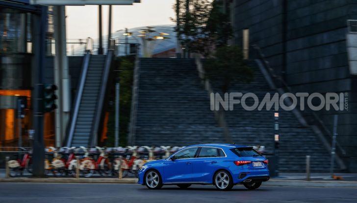 [VIDEO] Prova Audi A3 Sportback 2020, la Compatta Premium - Foto 3 di 45