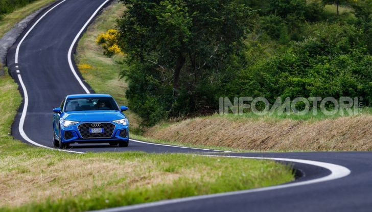 [VIDEO] Prova Audi A3 Sportback 2020, la Compatta Premium - Foto 13 di 45