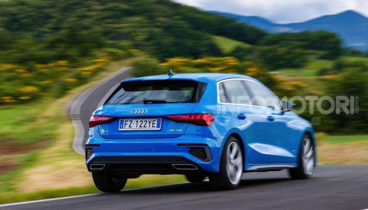 [VIDEO] Prova Audi A3 Sportback 2020, la Compatta Premium - Foto 14 di 45