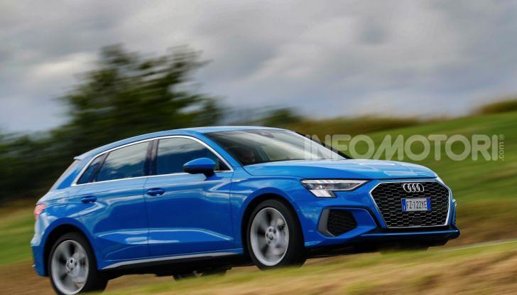 [VIDEO] Prova Audi A3 Sportback 2020, la Compatta Premium - Foto 15 di 45
