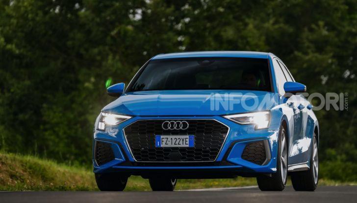 [VIDEO] Prova Audi A3 Sportback 2020, la Compatta Premium - Foto 17 di 45