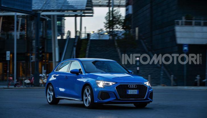 [VIDEO] Prova Audi A3 Sportback 2020, la Compatta Premium - Foto 5 di 45