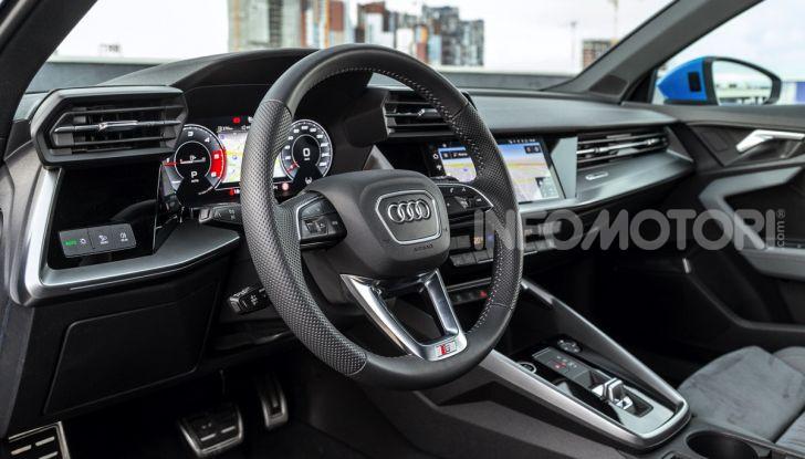 [VIDEO] Prova Audi A3 Sportback 2020, la Compatta Premium - Foto 44 di 45
