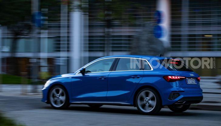 [VIDEO] Prova Audi A3 Sportback 2020, la Compatta Premium - Foto 8 di 45