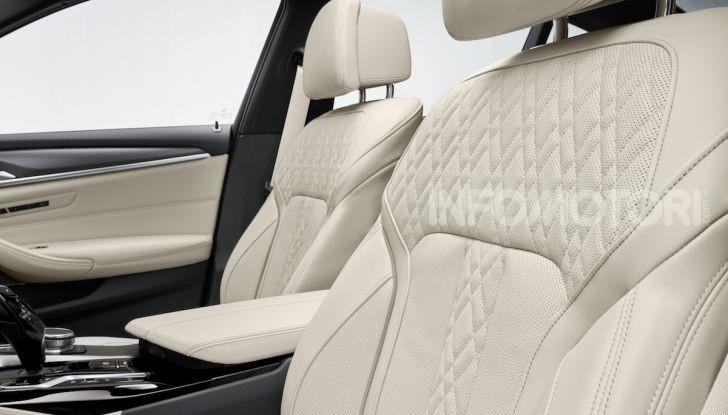 Nuova BMW Serie 5 2020: look sportivo e interni raffinati - Foto 11 di 32