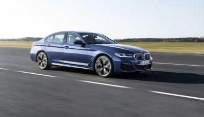 Nuova BMW Serie 5 2020: look sportivo e interni raffinati